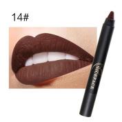 KaiCran Ladies Beauty Makeup Waterproof Sexy Pen Hydrating Long Lasting Lip Gloss Pen