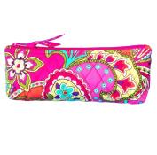 Vera Bradley Brush & Pencil in Pink Swirls