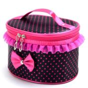 Travel Makeup Bags,ABCsell Womens' Fashion Portable Travel Toiletry Zipper Makeup Handbag Box Cosmetic Bag Organiser Holder 2017 New