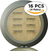 Magnetic Eyelashes [No Glue] Premium Quality False Eyelashes Set for Natural Look - Best Fake Lashes Extensions One Two Cosmetics 3D Reusable