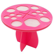 DRQ Cosmetic Makeup Nail Art Brush Holder Dryer Organiser Brush Tree Dryer Folding Collapsible Air Drying Rack Mix Size