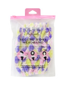 Gal Pal Secure & Dry Headband, Purple/Pendants