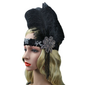 Fascigirl Great Gatsby Headpiece 1920s Flapper Headband
