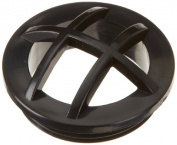 Hayward SP1026BLK Black Fixed Grate Insert Replacement for Hayward 1-2.5cm - 5.1cm . MIP Inlet Fitting