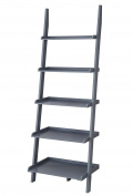 Convenience Concepts American Heritage Bookshelf Ladder, Grey