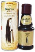 Nuzen Gold Herbal Hair Oil - 100% Pure Herbal Hair Oil , Grows New, Dense, Dark & Strong Hair, Prevents Dandruff,100% Ayurvedic and can be used both by Men & Women - 100ml by Nuzen