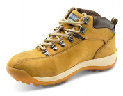 Click workwear mens nubuck leather lightweight chukka safety work boot
