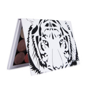 mpty Magnetic Palette, Hunzed Empty Magnetic Palette Makeup Palette Pad Tiger Head Large Pattern DIY Palette eyeshadow Box