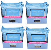 Neutrogena Makeup Removing Wipes, 25 Count, Twin Pack ZZwqfq, 4Pack