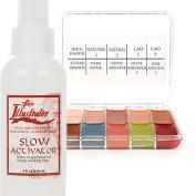 PPI Skin Illustrator On Set Flesh Tone Makeup Palette and Skin Illustrator Slow Activator (120ml) Bundle