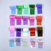 20Pcs/set Starry Sky Nail Foils Nail Art Transfer Sticker Decal Fashion