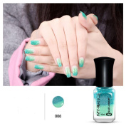 Promisen Thermal Nail Varnish Colour Changing Peel Off Varnish Beauty Sexy Cosmetic