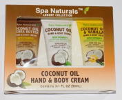 Spa Naturals Coconut Oil Hand & Body Cream Luxury Collection