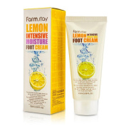 Farm Stay Korean Lemon Intensive Moisture Foot Creams for Dry Cracked Heels and Feet [ 100ml / 3.38oz ] 풋크림