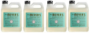 Mrs. Meyers Liquid Hand Soap Refill qAVpNP, 980ml, 4Pack