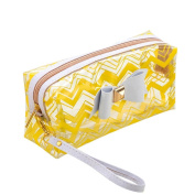 Cosmetic Bag,Hunzed Bowknot Cosmetic Toiletry Case Waterproof Travel Make Up Bag Holder Pouch