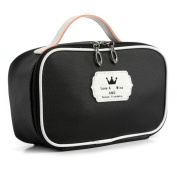 Makeup Bag, Hunzed Waterproof Travel Toiletry Pouch Portable Entrancing Multifunction Cosmetic Makeup Storage Bag Case