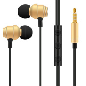 GBSELL 3.5mm With Microphone Bass Stereo In-Ear Earphones Headphones Headset Earbuds