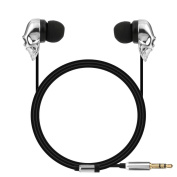 GBSELL Skull 3.5mm In ear Stereo Headphone Headset Super Bass Music Earphone Earbuds