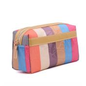 Makeup Bag Travel Cosmetic Bags, Waterproof Large Travel Case Brush Pouch Toiletry Kit Organiser Zipper