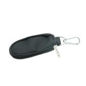 HUELE Essential Oils Carrying Case Travel Oil Carry Organiser Bag with Keychain for Roller Bottles 1ml / 2ml / 3ml