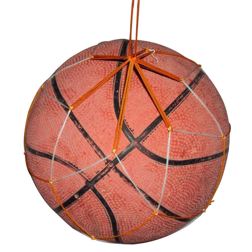 c94675d3becc bargain house Net Mesh Carrying Basketball Container Soccer Holder Ball Bag  White Yellow
