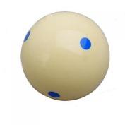 sea-junop Indoor Practise Training Billiard Pool Cue Ball- Blue dot