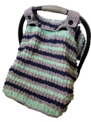 Handmade Crochet Baby Car Seat Canopy by Babies First