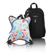 Obersee Rio Nappy Bag Backpack with Detachable Cooler, Dinos