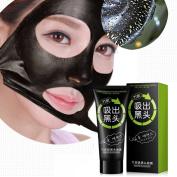 Black Mask, CieKen NEW Black Mud Deep Cleansing Peel Off Mask, Blackhead Remover Mask, Charcoal Mask, urifying Peel Face Mask, Eliminate Blemishes