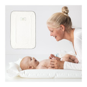 IKEA SKOTSAM Inflatable Changing Pad And Soft Cover Bundle