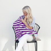 Nursing Cover Breastfeeding , Baby Car Seat Canopy , Infinity Scarf , Privacy Baby Breastfeeding , Multi use