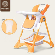 SpiritKids fold baby highchair, seat can adjust baby dining chair