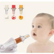 HaloVa Baby Medicine Dispenser, Kids Medicine Pacifier, Soft Tip Liquid Medicine Syringe Dropper Feeder for Infant Toddler Newborns, BPA-free and Non-toxic