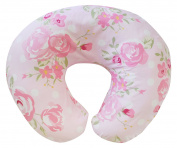 My Baby Sam Rosebud Lane Nursing Pillow Slipcover, Pink