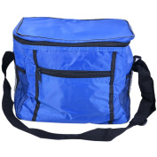 Souarts Oxford Cloth Royal Blue Collapsible Soft Cooler Bag Ice Pack Insulation Package for BBQ