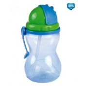 Canpol Sport cup with flip-top straw 370ml