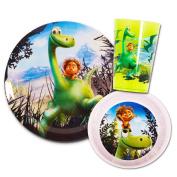 Disney Pixar Good Dinosaur Toddler Dinnerware Set - Plate, Bowl and Cup