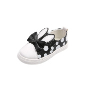 YJYdada Cute Toddler Baby's Rabbit Bowknot Sneakers First Walker Shoes Outdoor