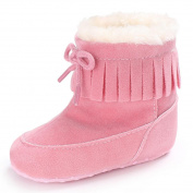 WeiYun Floral Baby Walkers Baby Shoes Sneakers Soft Sole Snow Boots Soft Crib Shoes Toddler Boots