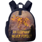 A Brown Yellow Camouflage Elephant 11 School Bookbags For Children, Floral Backpack College Bags Daypack