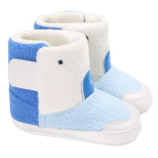 Vmree Baby Girl Boy Soft Sole Booties Snow Boots Infant Toddler Newborn Warm Shoes