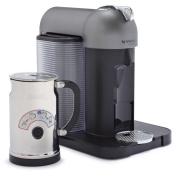 Nespresso VertuoLine with Aeroccino Plus A+GCA1-US-BM-NE , Titan Grey