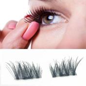 Magnetic Eyelashes, Hometom Magnetic Eye Lashes 3D Reusable False Magnet Eyelashes