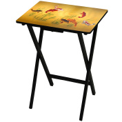 Oriental Furniture Lucky Fish TV Tray