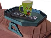 Utrax Wooden Sofa Arm Clip on Snack Table Wood Chair Armrest Tray Organiser Romote Caddy