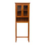 Glitzhome 170cm H Wooden Bathroom Storage Cabinet Spacesaver