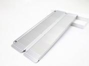Ruedamann Folding Portable Mobility Wheelchair Threshold Ramp MR607M-5