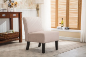 Christies Home Living Samantha Accent Chair with Espresso Legs