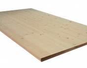 Allwood 2.5cm x 60cm x 120cm Whitewood Table / Counter / Island Top